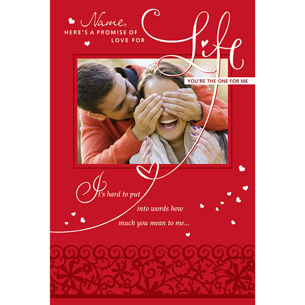 birthday greeting cards for husband online shopping ; Love_For_Life_Personalised_Greeting_Card_GRLOVCARD040_a2d30908