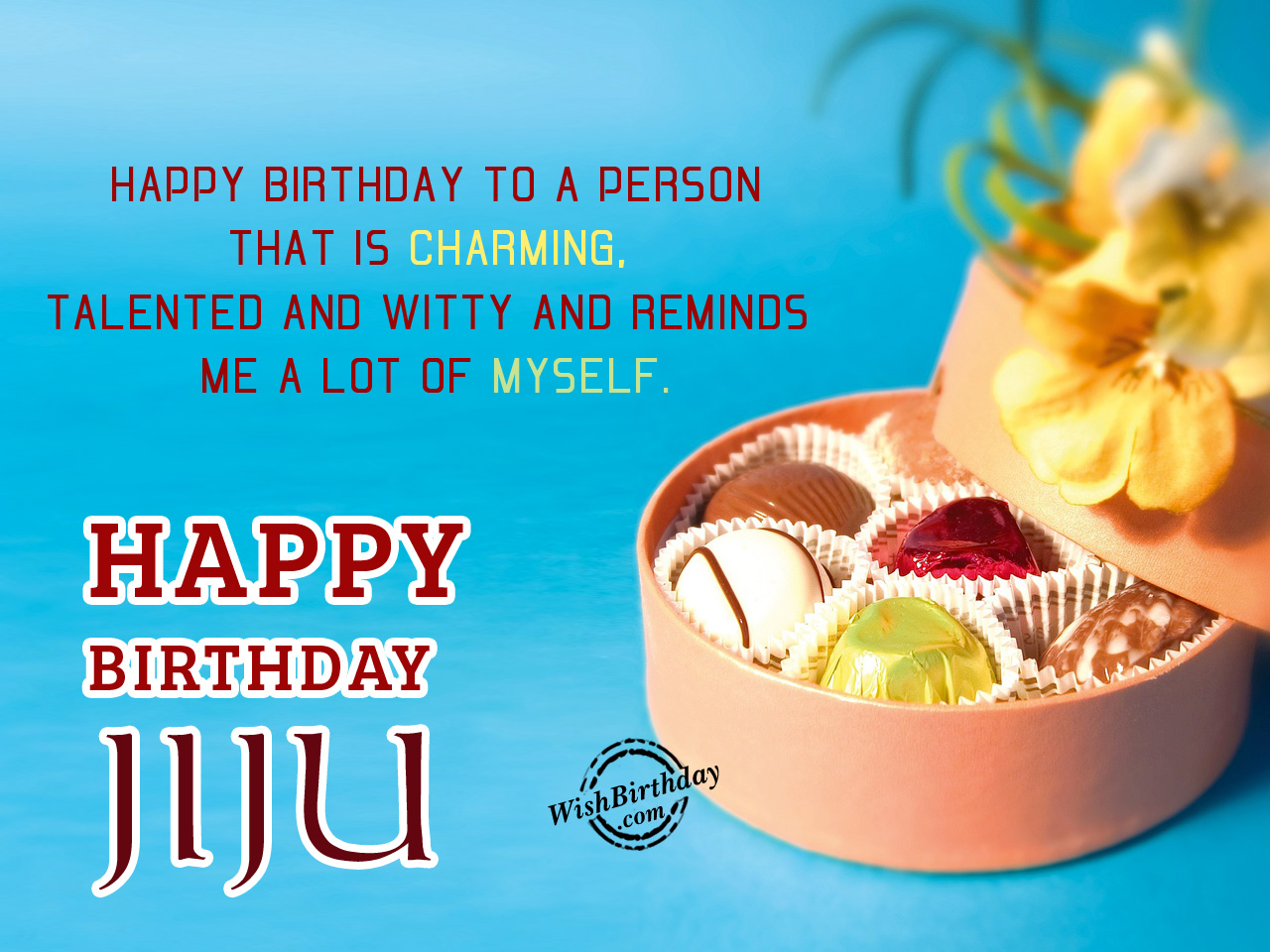 Birthday Greeting Cards For Jijaji Happy To A Person