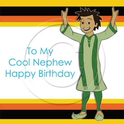 birthday greeting cards for nephew ; 64f9a578bc853ac910e39449f87f0860