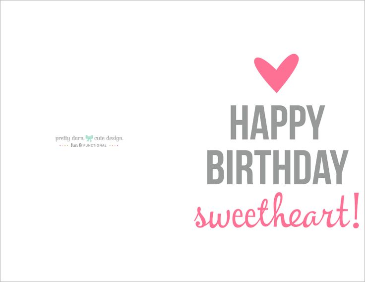 birthday greeting cards for printing ; birthday-card-print-rectangle-potrait-folded-white-grey-pink-happy-birthday-sweetheart-top-10-printable-birthday-cards-and-best-birthday-wishes