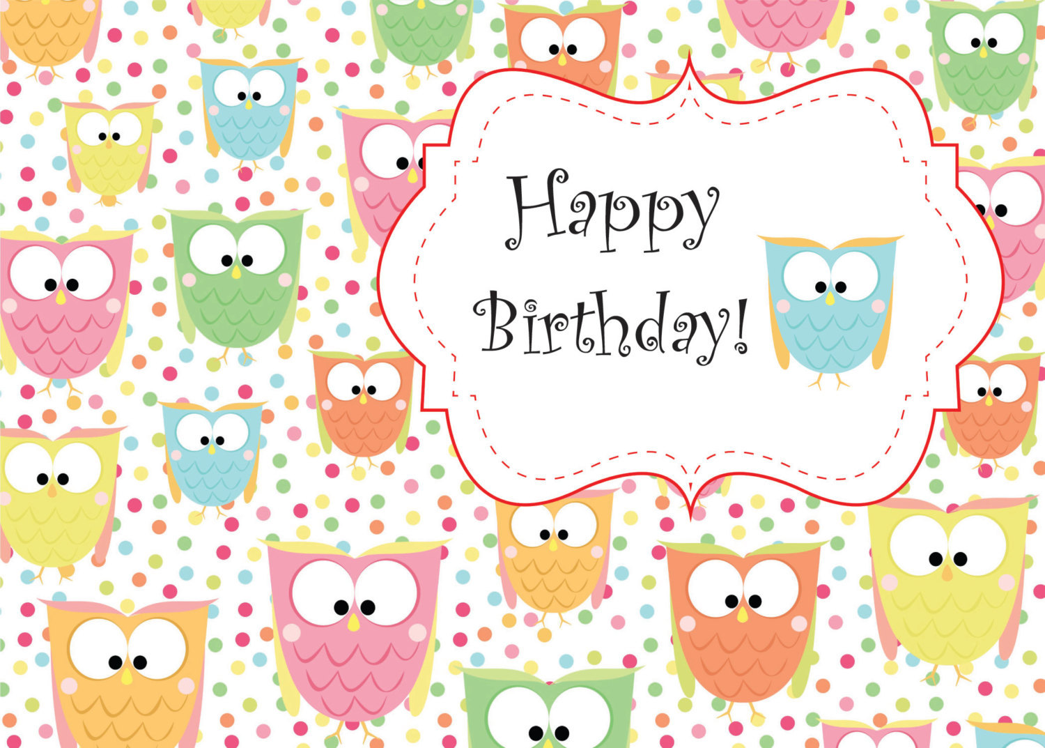 birthday greeting cards for printing ; il_fullxfull