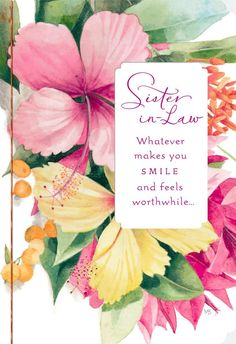 birthday greeting cards for sister in law ; 6aa82004a22941d35485a65ecc40dc31--birthday-cards-for-sister-birthday-wishes