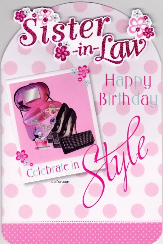 birthday greeting cards for sister in law ; Lovely-Greetings-Birthday-Wishes-For-Sister-In-Law