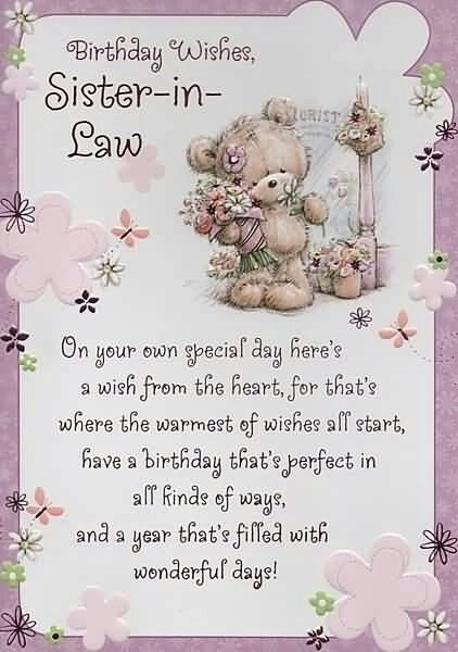 birthday greeting cards for sister in law ; c6179d92ace388c58a9ce40320de10e4