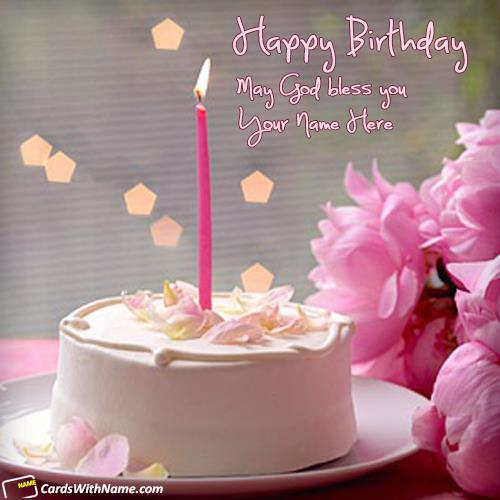 Birthday Greeting Wishes With Name Happy