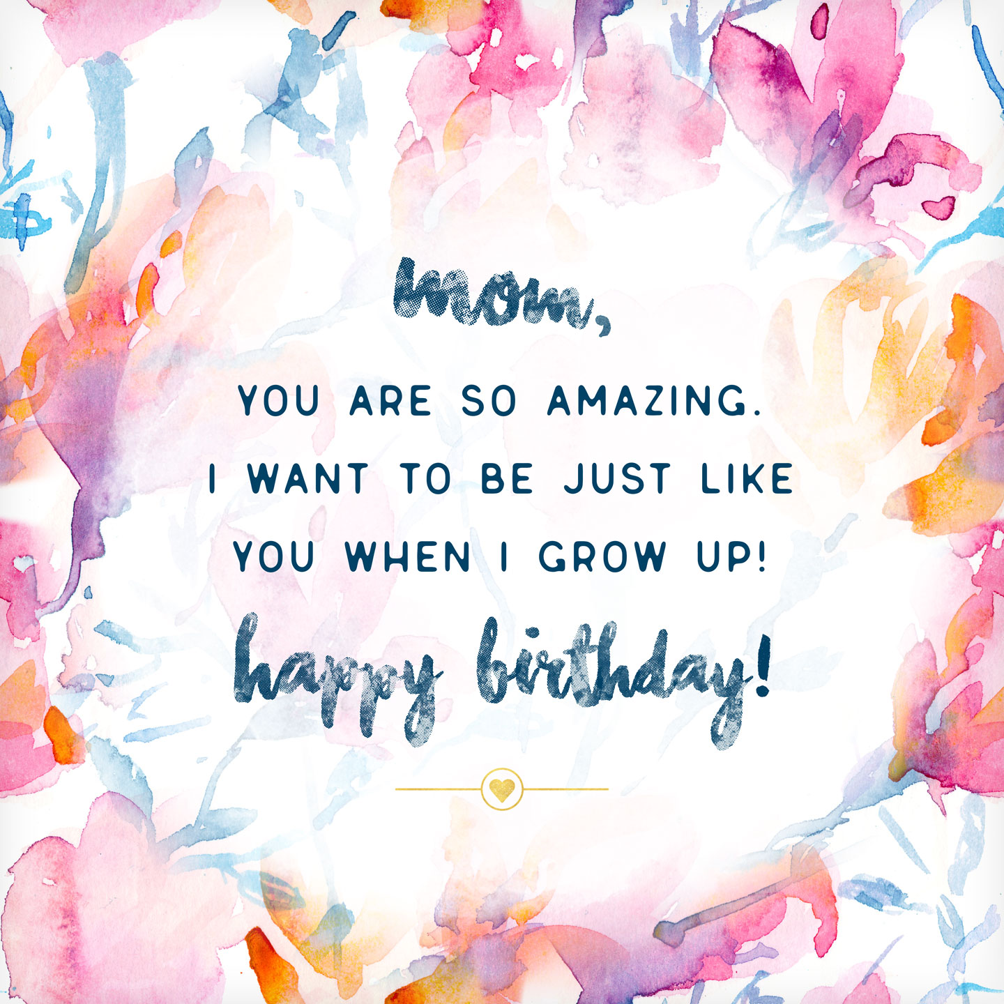 birthday greetings to write in a card ; birthday-card-messages-mom
