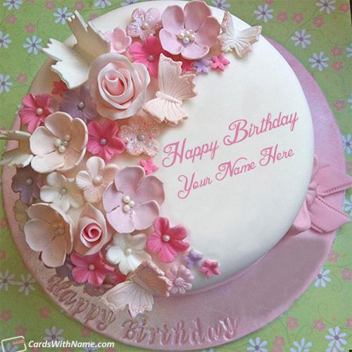 birthday image maker ; design-stylish-birthday-cake-for-girls-name-maker-b39a