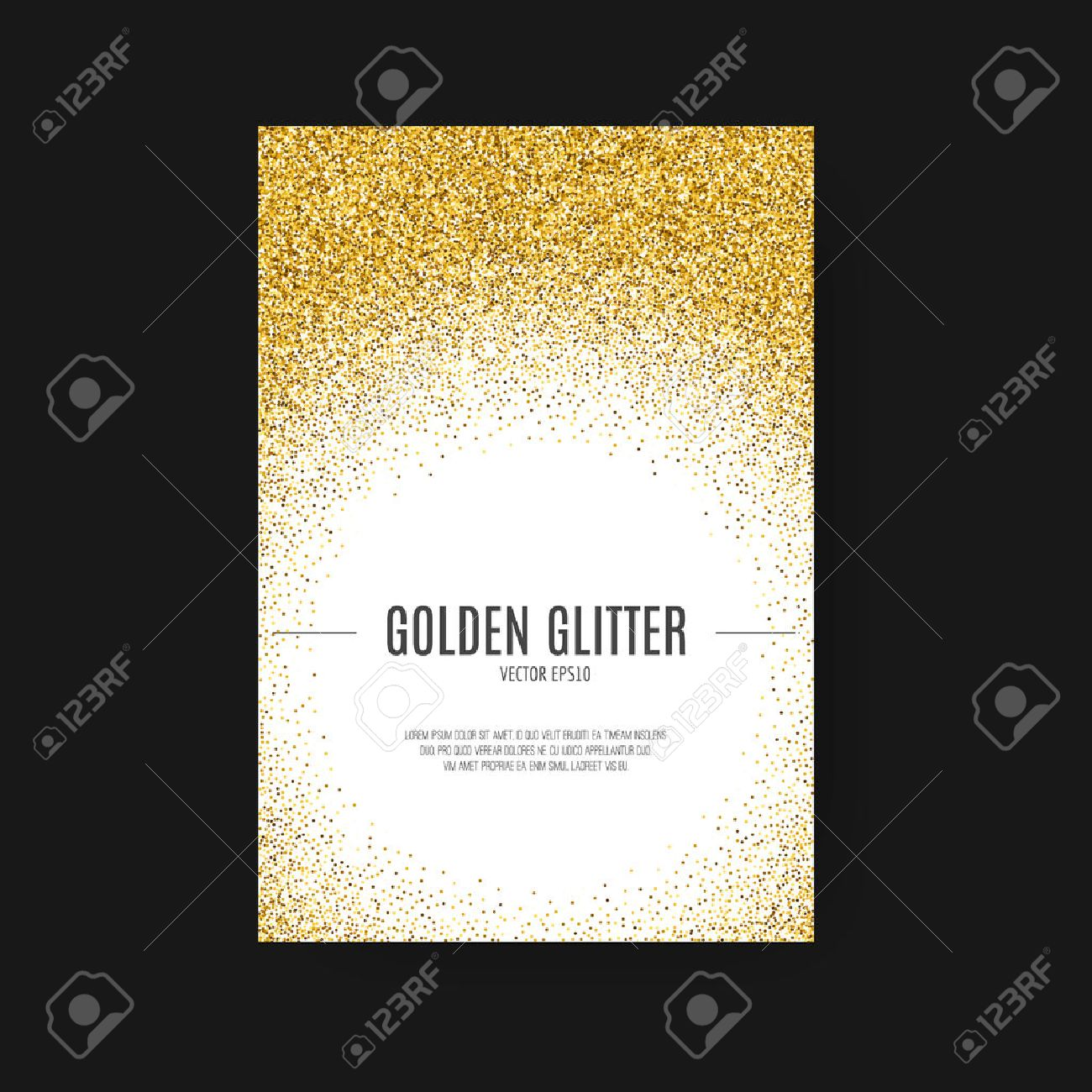 birthday invitation background designs free ; 50367341-template-for-banner-flyer-save-the-date-birthday-party-or-other-invitation-with-gold-background-gold