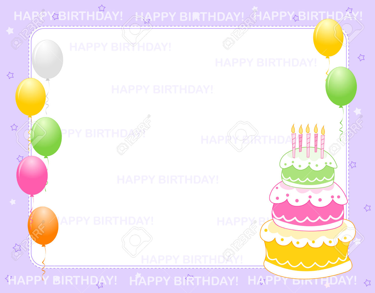 birthday invitation background designs free ; vector-colorful-birthday-card-or-invitation-background-with-happy-birthday-text-and-balloons-and-a-birth-day-cake-happy-birthday-invitation-cards