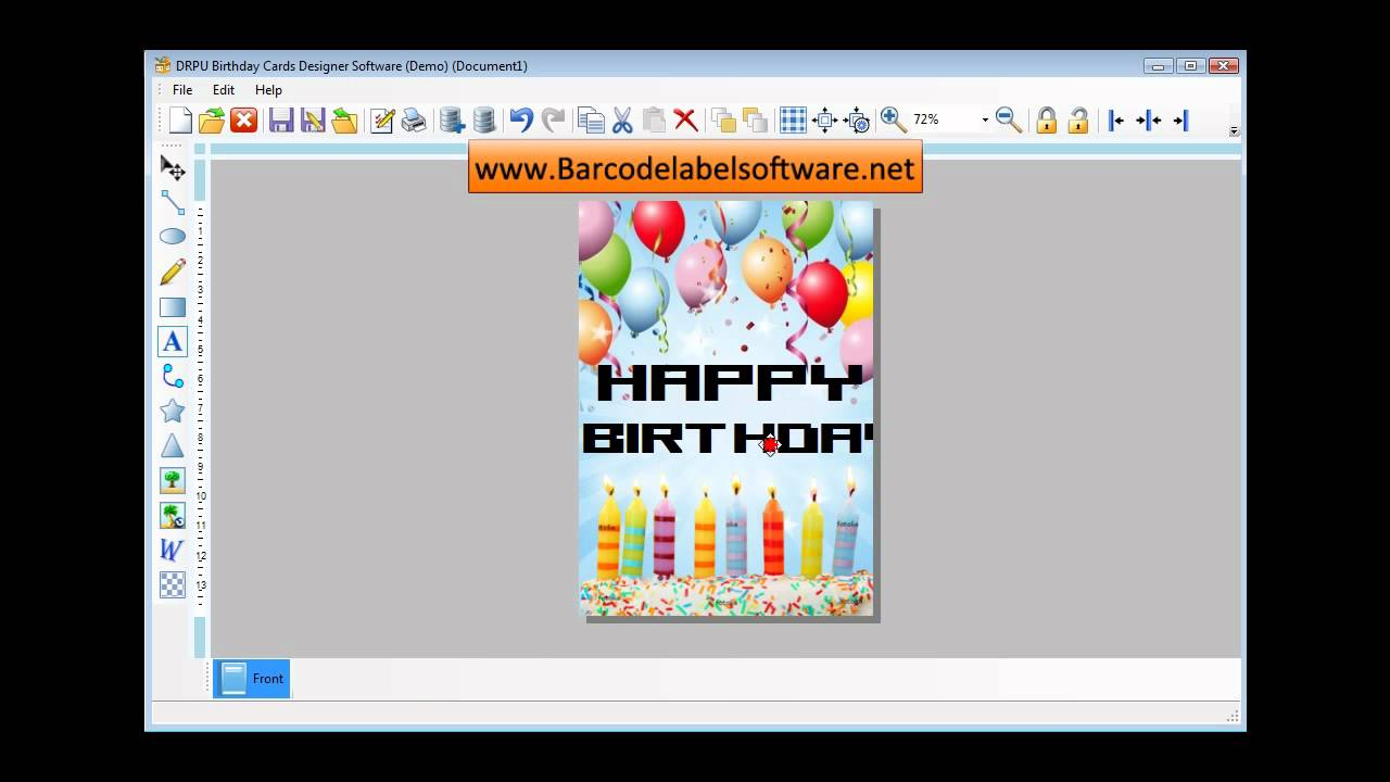 Birthday Invitation Card Editor Online Free Maker