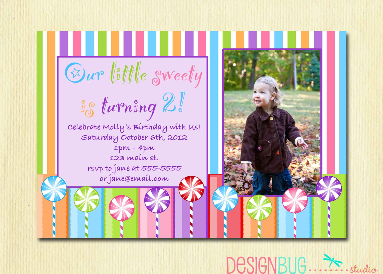 birthday invitation cards for 3 year