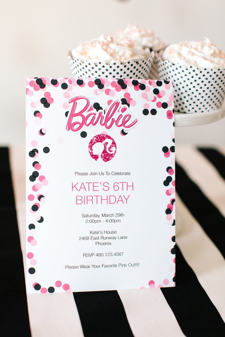 birthday invitation design ideas ; barbie-party-invitations-glam-party-invitations-party-invitation-birthday-invitation-glam-party-invitations-design-ideas