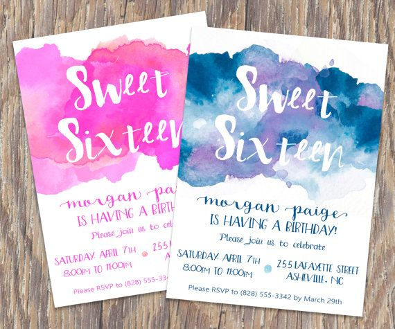 birthday invitation design ideas ; birthday-party-invitation-ideas-best-25-birthday-invitations-ideas-on-pinterest-bday-invitation-1