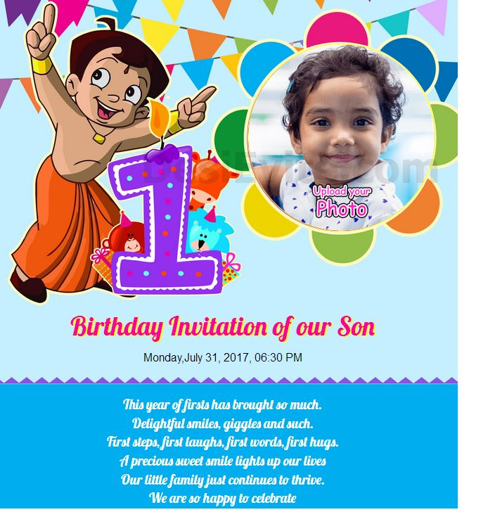 birthday invitation in marathi ; 1st-birthday-indian-82