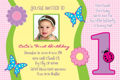 birthday invitation message for 1 year old ; 1-year-old-birthday-invite-angeliqueannscreations-on-artfire-birthday-invitation-wordings-for-1-year-old