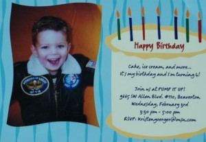 Birthday Invitation Wording For 6 Year Old Boy 3