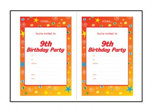 birthday invitation wording for 6 year old boy ; perfect-9-year-old-party-be-modest-birthday