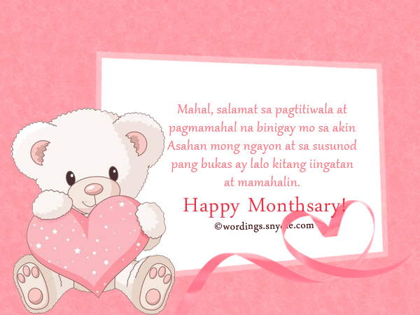 birthday love message tagalog ; tagalog-monthsary-messages-wordings