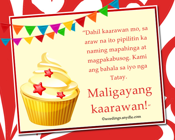 birthday message for daddy tagalog ; happy-birthday-wishes-in-tagalog-1