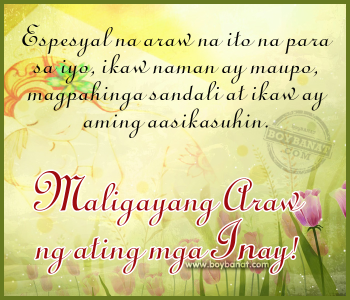 birthday message for me tagalog ; mothers+day+quotes+tagalog