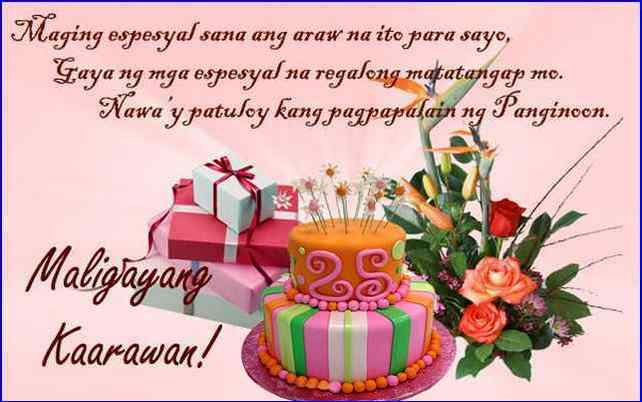 birthday message for mother from daughter tagalog ; birthday-message-for-daughter-tagalog