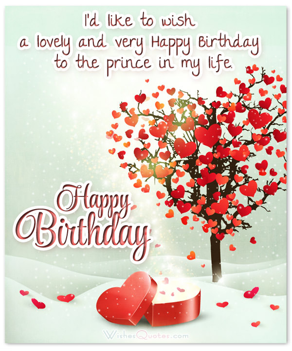 birthday message quotes for boyfriend ; Happy-Birthday-prince-in-my-life