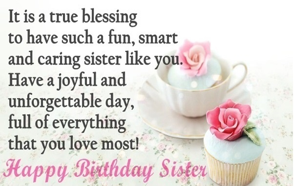 birthday message quotes for sister ; 1aca966d3eddb2fae527e328cd14bbc4