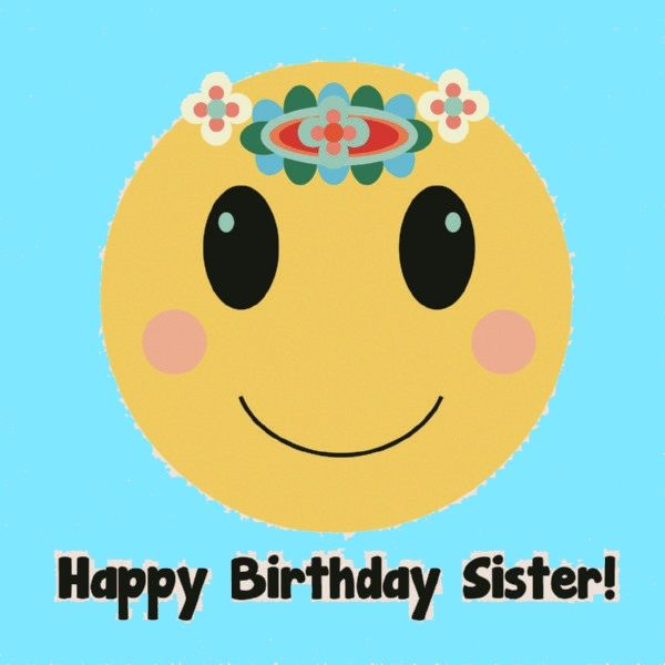 birthday message quotes for sister ; HappyBirthdaySister01