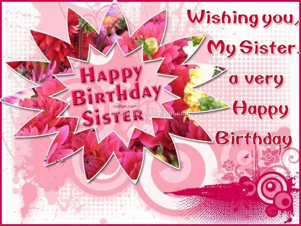 birthday message quotes for sister ; Wonderful-Greetings-Birthday-Wishes-For-Sister-Quotes