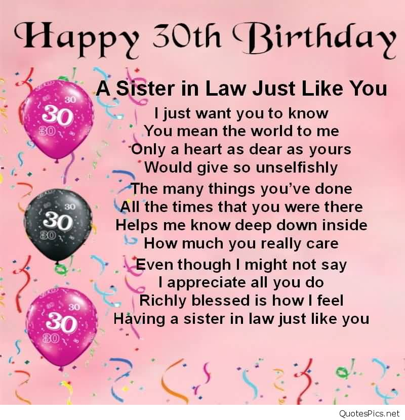 birthday message quotes for sister ; best-quotes-30th-birthday-wishes-for-sister-in-law-greetings