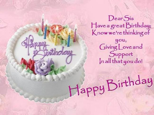birthday message quotes for sister ; happy-birthday-wishes-quotes-for-sister