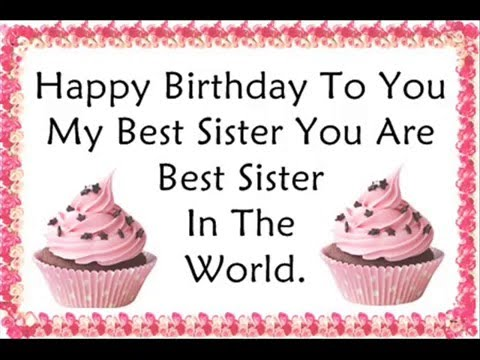 birthday message quotes for sister ; hqdefault