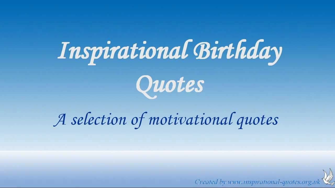 birthday message quotes inspirational ; maxresdefault