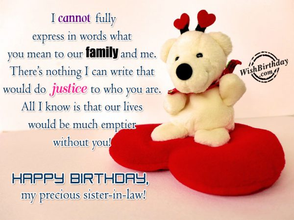 birthday message to a mother tagalog ; I-Cannot-Fully-Express-In-Words-What-You-Mean-To-Our-Family-And-Me-Happy-Birthday-My-Precious-Sister-in-Law