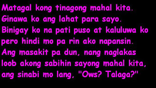 birthday message to best friend tagalog ; tagalog-love-quotes