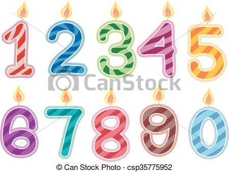 birthday numbers clipart ; birthday-candles-numbers-clipart-vector_csp35775952