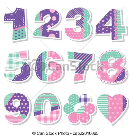 birthday numbers clipart ; cute-birthday-numbers-collection-clip-art-vector_csp22010065