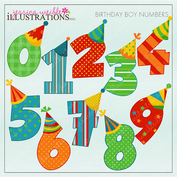 birthday numbers clipart ; il_570xN