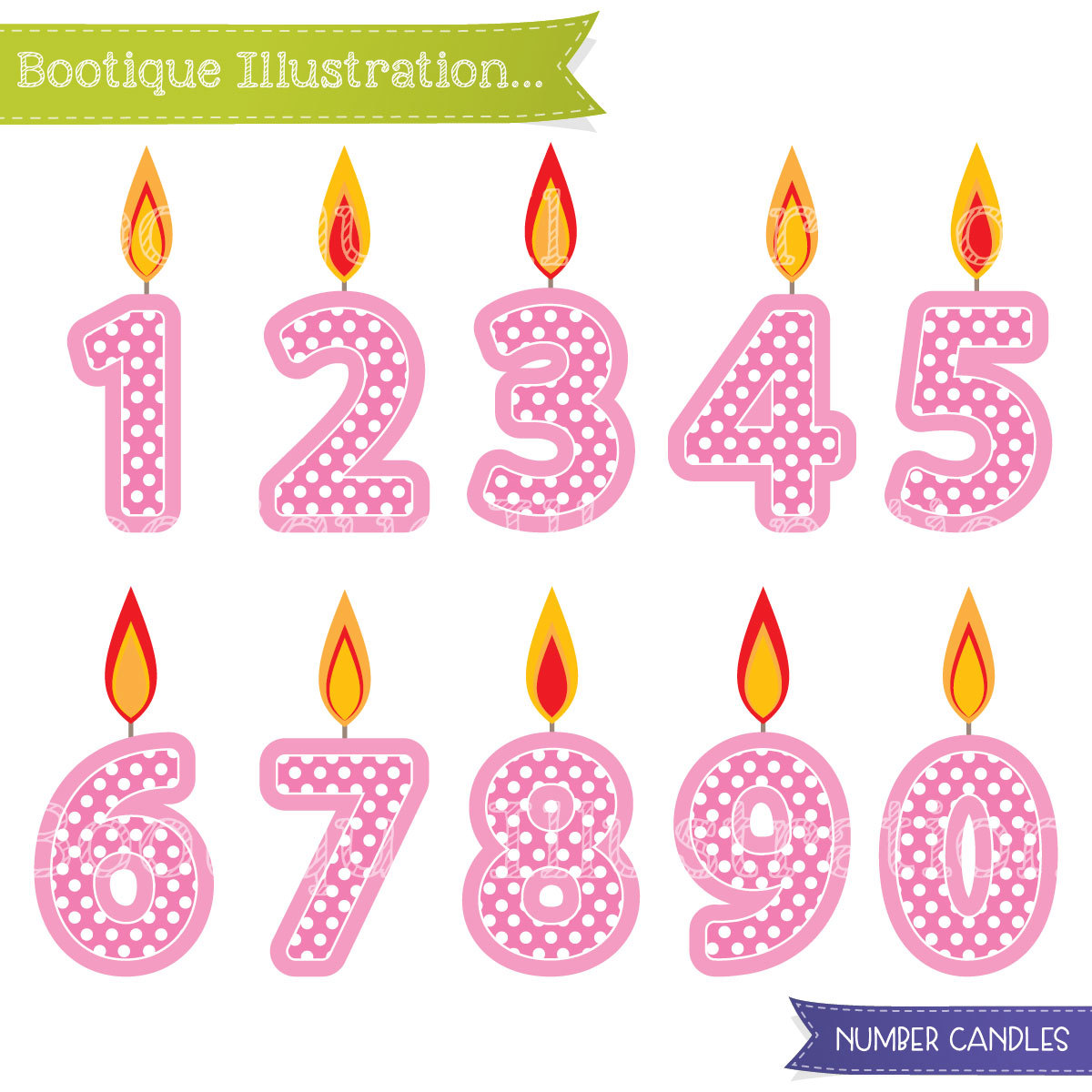 birthday numbers clipart ; il_fullxfull