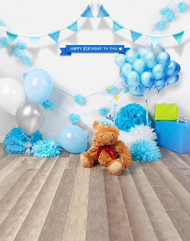 birthday party background themes ; Blue-Balloon-for-baby-shower-photography-backdrop-vinyl-fotografica-backdrops-for-baby-birthday-party-photo-studio