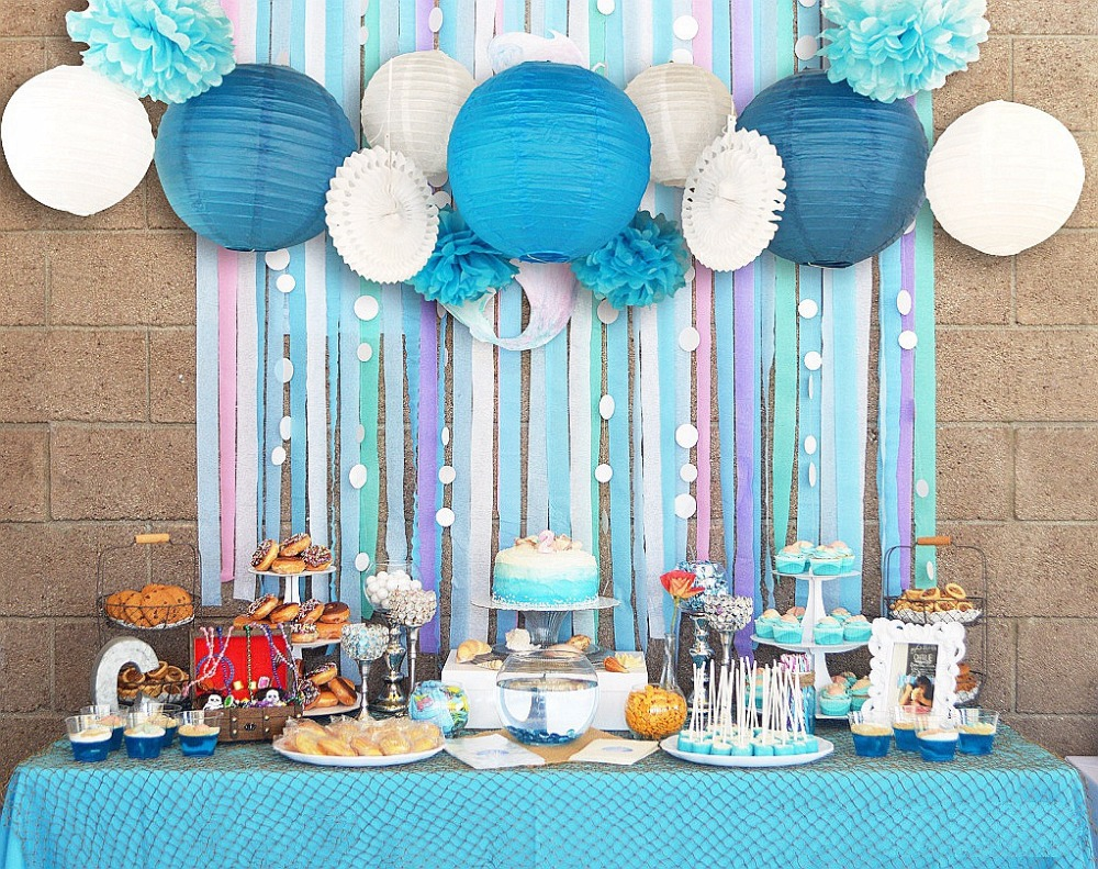 birthday party background themes ; Blue-font-b-White-b-font-Wedding-font-b-Theme-b-font-Background-Wall-font-b