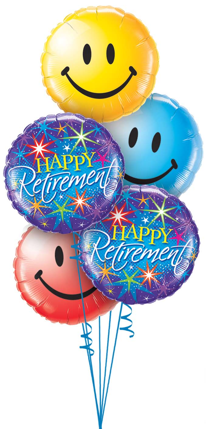birthday party balloons clipart ; happyretirement