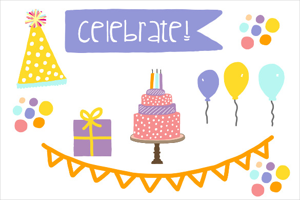birthday party banner design ; Birthday-Party-Sample-Banner-Template