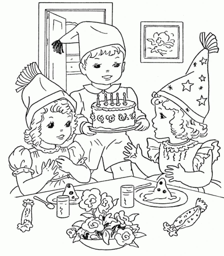 birthday party coloring pictures ; liberal-birthday-party-colouring-pages-printable-pictures-75-for-download-897x1024