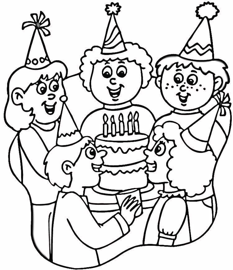 birthday party drawing ideas ; 5f2ad5084351967e08d1c5f3e3d7dcaa_printable-happy-birthday-coloring-pages-free-birthday-coloring-birthday-party-line-drawing_750-869