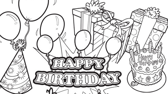 birthday party drawing ideas ; 5fe07ab7314aa4dcd78c73d27af544ab_happy-bday-coloring-lede-580x326_featuredImage