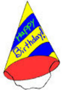 birthday party hat clipart ; 0512-0712-0313-1128