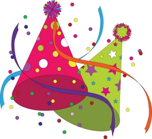 birthday party hat clipart ; clip_art_illustration_of_a_green_and_pink_multicolored_party_hat_0515-0812-2214-4831_SMU