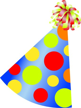 birthday party hat clipart ; party-clipart-Birthday4