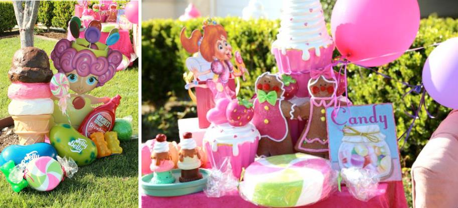 birthday party ideas and themes ; Candyland-Candy-Land-themed-birthday-party-via-Karas-Party-Ideas-KarasPartyIdeas